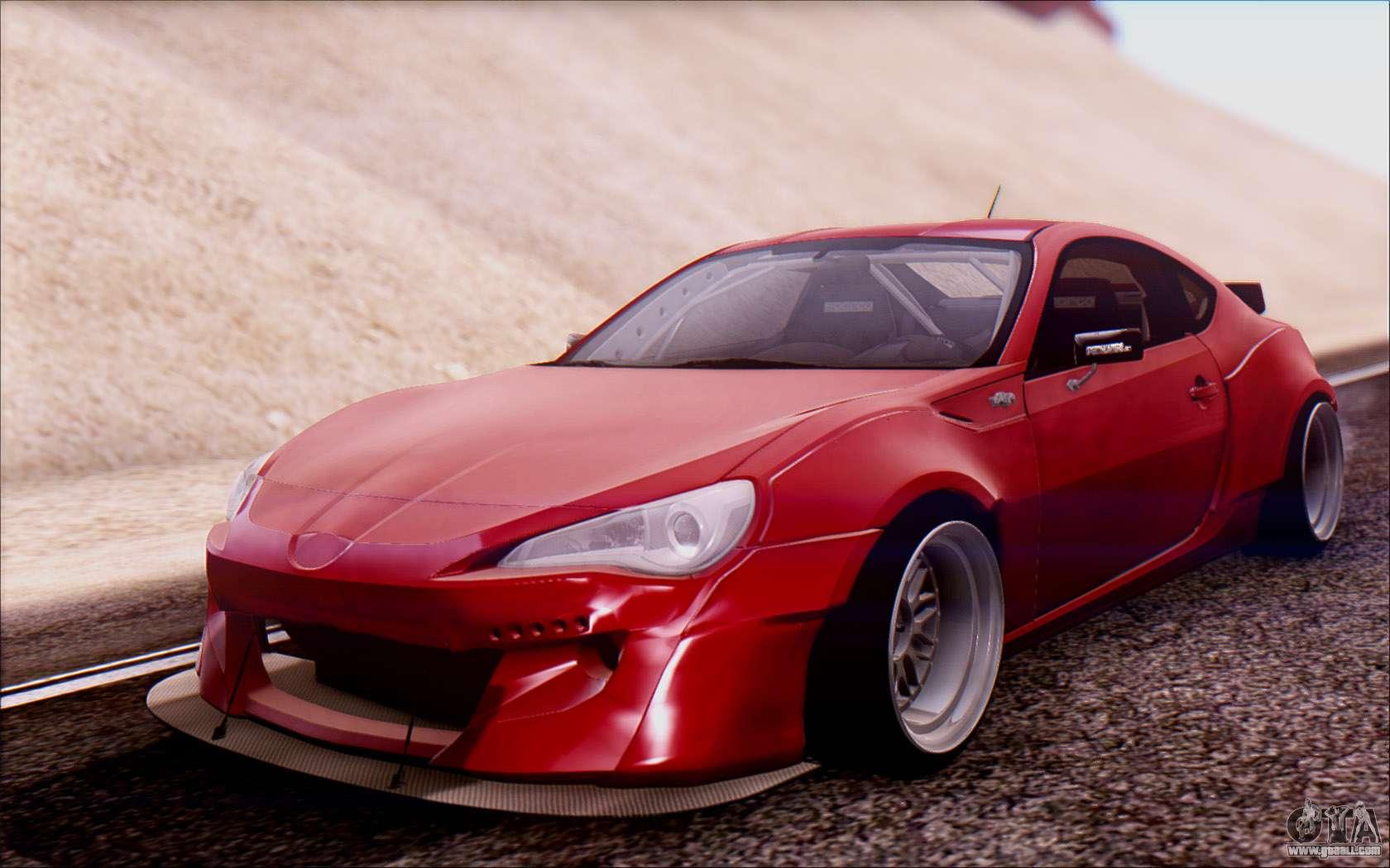 Gt86 Rocket Bunny V2 >> Toyota GT86 Rocket Bunny v2 for GTA San Andreas