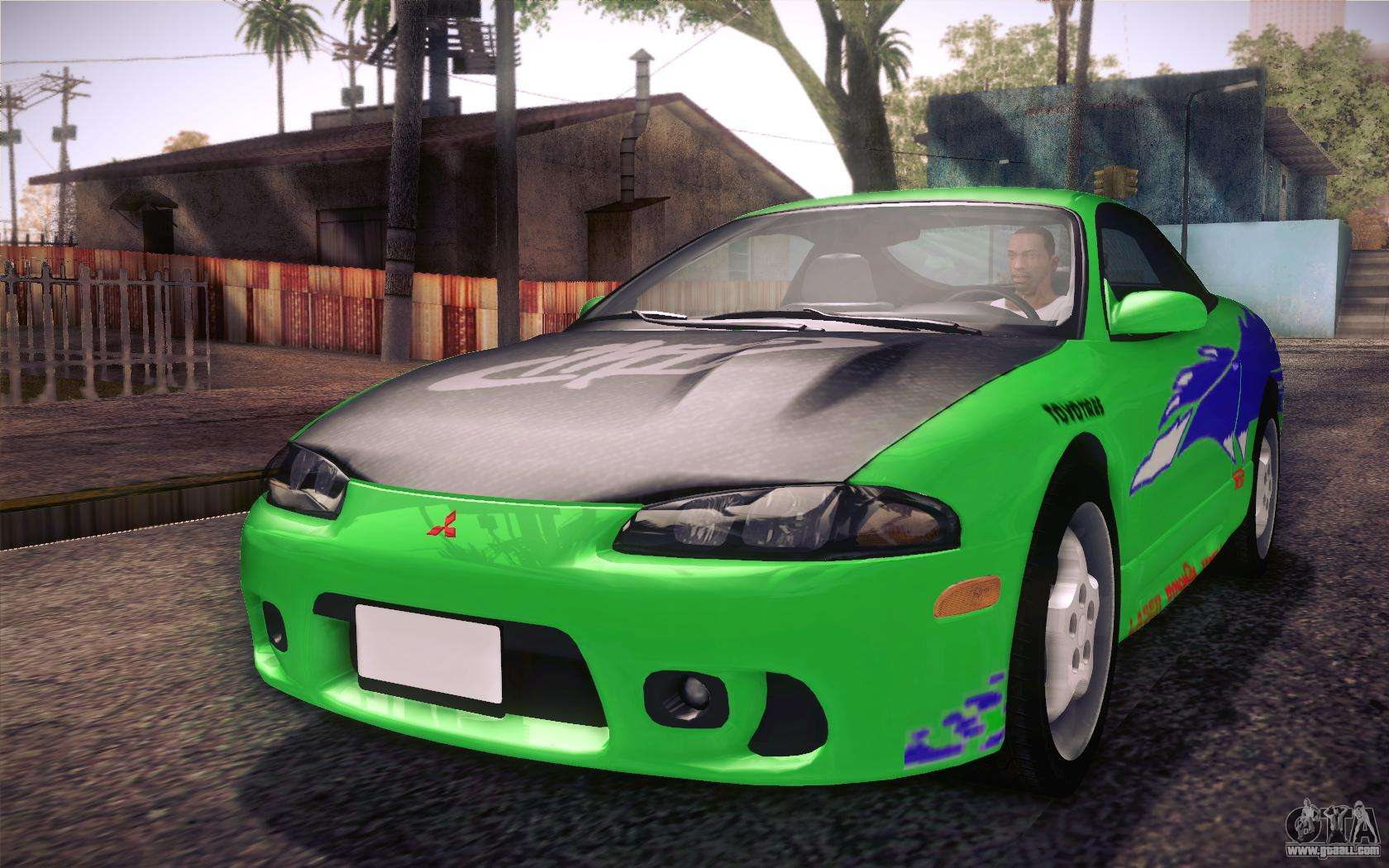 mitsubishi eclipse fast and furious for gta san andreas side view - Mitsubishi Eclipse Fast And Furious Wallpaper