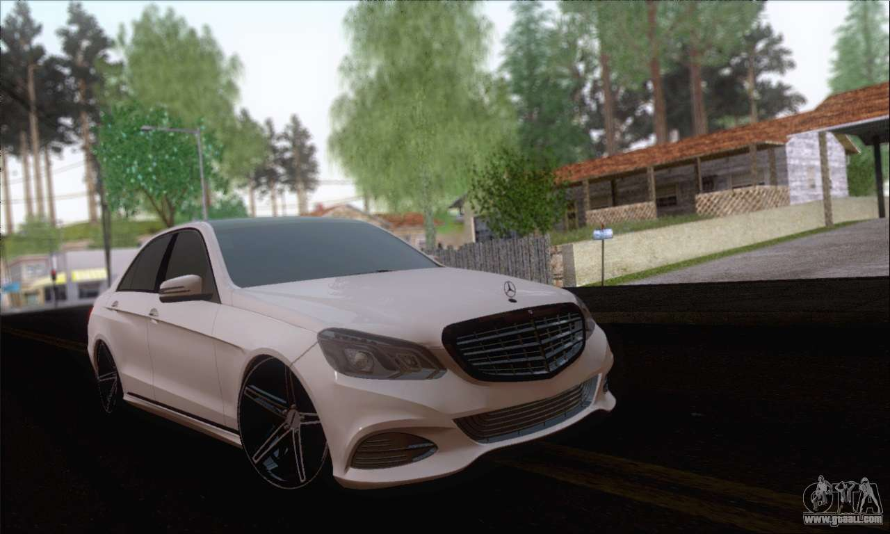 Mercedes-Benz W212 AMG for GTA San Andreas