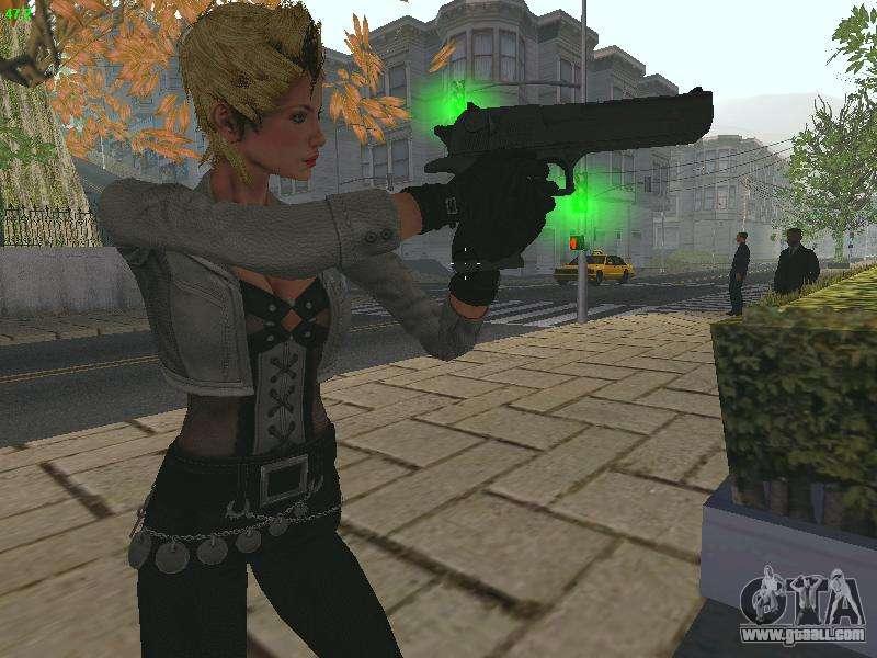 Juliet Starling for GTA San Andreas