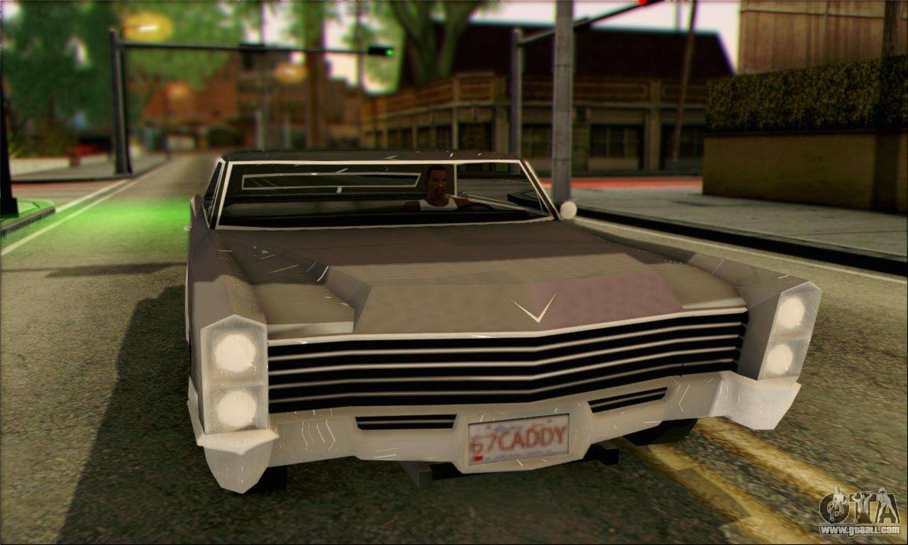 Cadillac For Gta San Andreas Page 4 1978 Deville On Blades Lowrider 1967