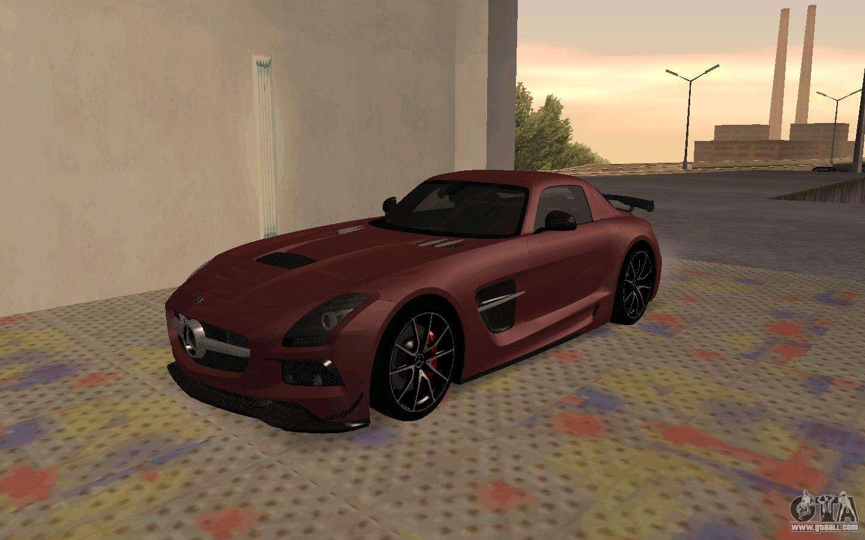 Mercedes benz sls amg 2013 black series for gta san andreas for 2013 mercedes benz sls