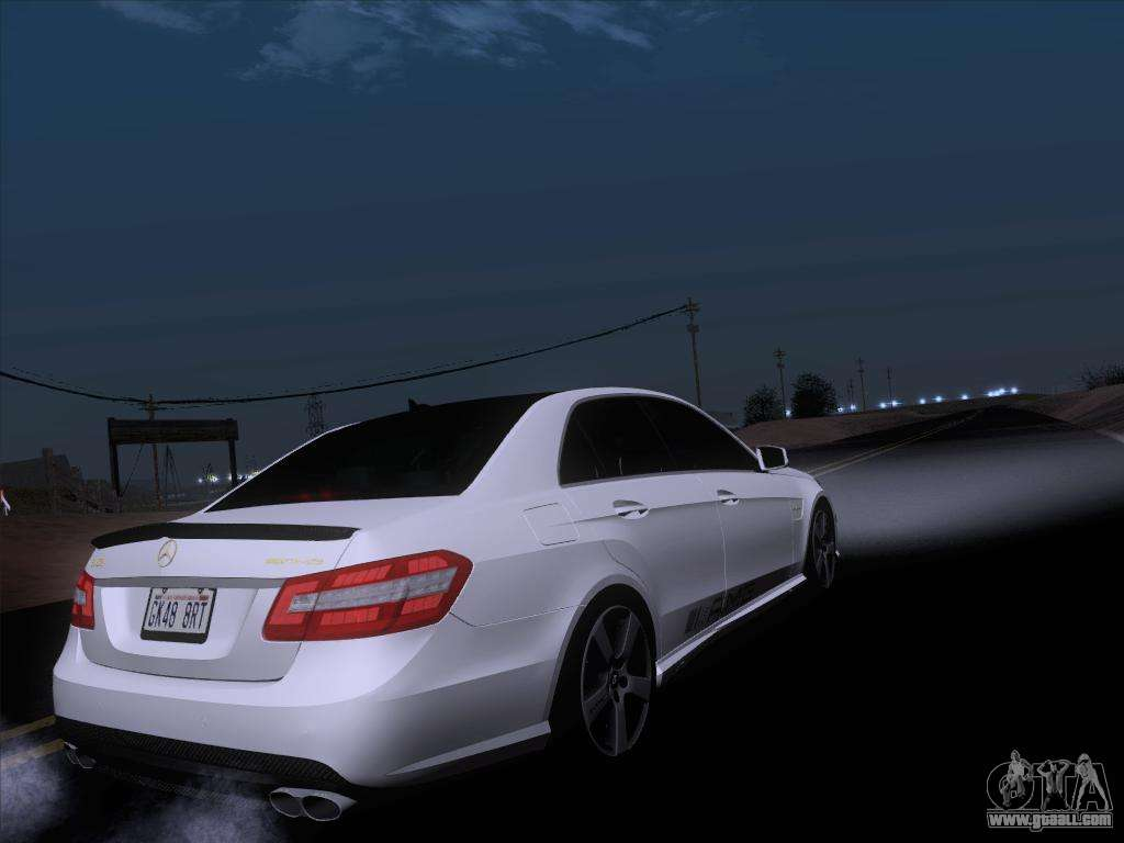 mercedes benz e63 amg 2011 special edition for gta san andreas. Black Bedroom Furniture Sets. Home Design Ideas