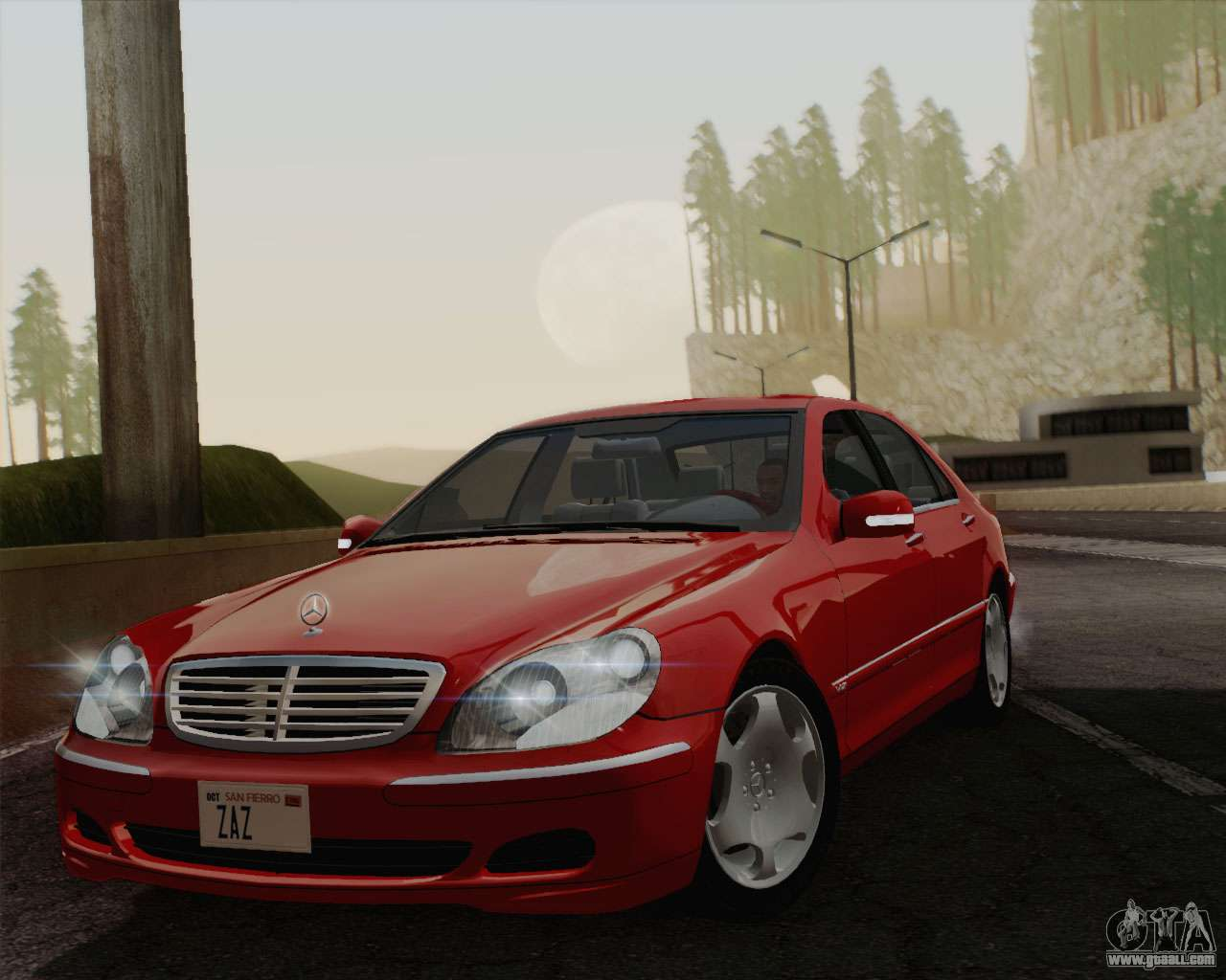 Mercedes Benz S600 Biturbo 2003 For Gta San Andreas