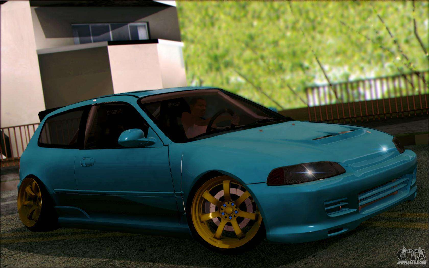 honda civic eg6 tube frame for gta san andreas. Black Bedroom Furniture Sets. Home Design Ideas