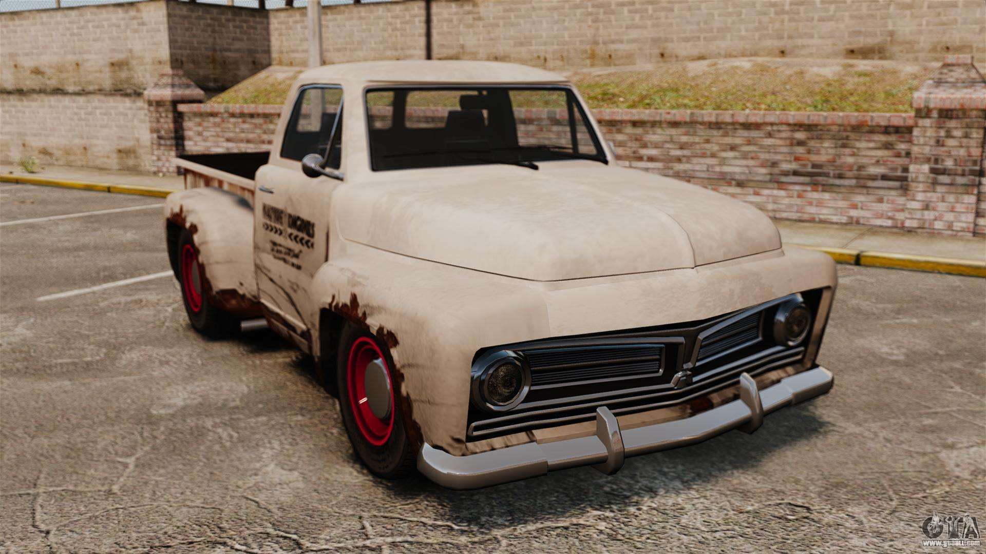 rusty old truck for gta 4