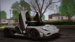 Koenigsegg Agera купе for GTA San Andreas
