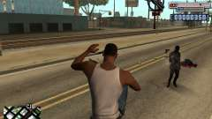C-HUD by olimpiad for GTA San Andreas