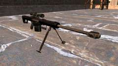 Barrett M82A1 sniper rifle Light Fifty for GTA 4