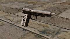 Updated pistol CZ75