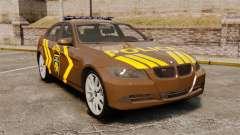 BMW 350i Indonesia Police v2 [ELS] for GTA 4