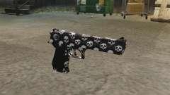 Pistol Desert Eagle Skull