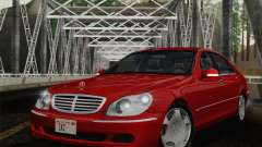 Mercedes-Benz S600 Biturbo 2003 for GTA San Andreas