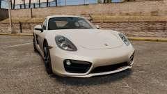 Porsche Cayman S 981C