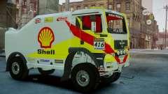 MAN TGA Dakar Truck Shell for GTA 4