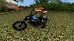 Harley Davidson Shovelhead for GTA Vice City