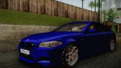 BMW M5 F10 v2 for GTA San Andreas