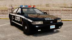 GTA V Vapid Police Cruiser [ELS] for GTA 4