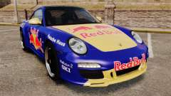 Porsche 911 Sport Classic 2010 Red Bull for GTA 4