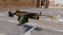 The M249 light machine gun Airsoft