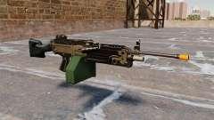 The M249 light machine gun Airsoft