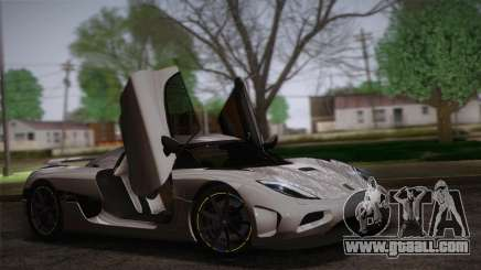 Koenigsegg Agera купе for GTA San Andreas