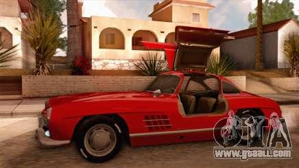 Mercedes-Benz 300SL Gullwing for GTA San Andreas