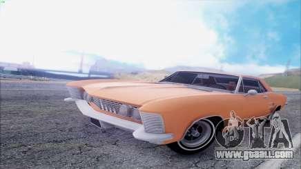 Buick Riviera 1963 for GTA San Andreas