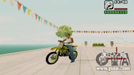 Suzuki RM 250 for GTA San Andreas