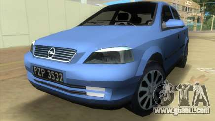 Opel Astra 4door 1.6 TDi Sedan for GTA Vice City