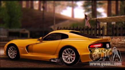 SRT Viper Autovista for GTA San Andreas