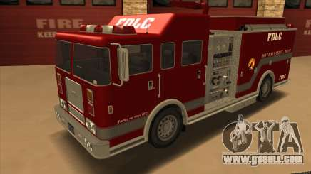 Firetruck HD from GTA 3 for GTA San Andreas