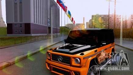 Mercedes-Benz G55 for GTA San Andreas