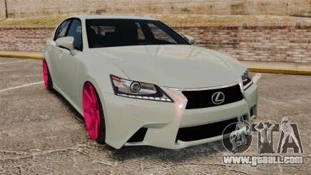 Lexus GS 350 2013 for GTA 4