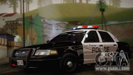 Ford Crown Victoria 2005 Police for GTA San Andreas