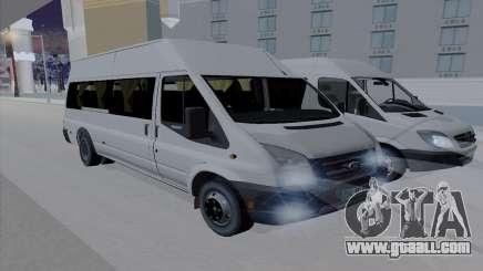 Ford Transit Jumgo for GTA San Andreas
