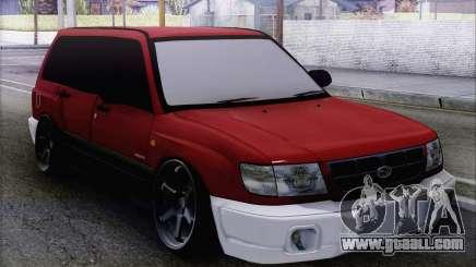 Subaru Forester Hellaflush for GTA San Andreas