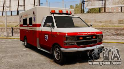 Iranian ambulance for GTA 4