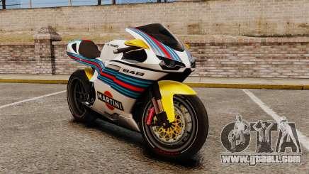 Ducati 848 Martini for GTA 4