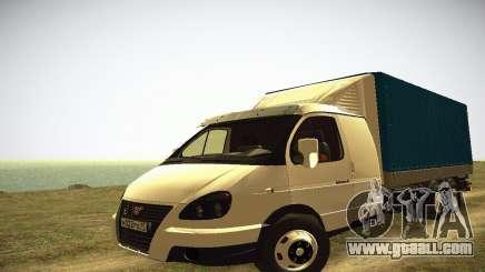 Gazelle 33023 HEAVY for GTA San Andreas