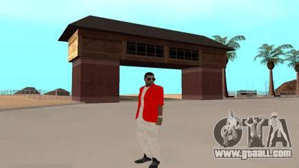 Kaney West for GTA San Andreas