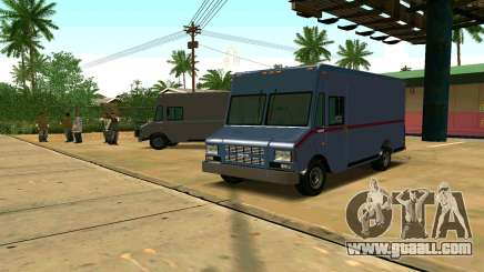 Boxville from GTA 4 for GTA San Andreas