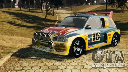 MG Metro 6r4 for GTA 4