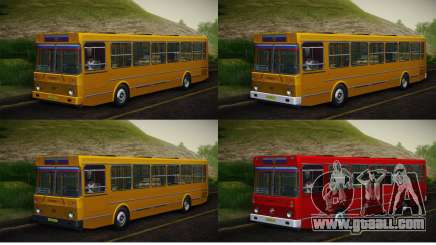 LIAZ 5256.00 Skin-Pack 5 for GTA San Andreas