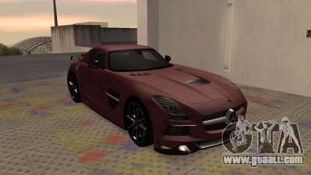 Mercedes-Benz SLS AMG 2013 Black Series for GTA San Andreas