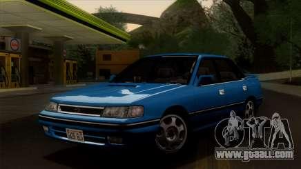 Subaru Legacy 2.0 RS (BC) 1989 for GTA San Andreas