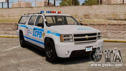 GTA V Declasse Police Ranger 3500PE [ELS] for GTA 4