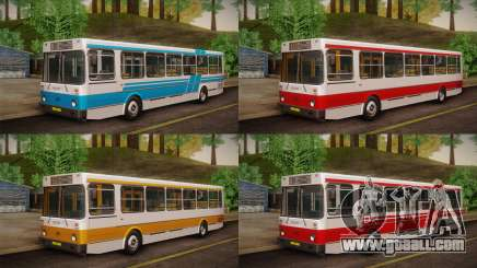LIAZ 5256.00 skin Pack 2 for GTA San Andreas