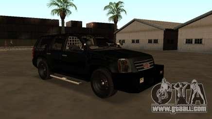 GMC Yukon ATTF for GTA San Andreas