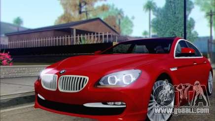 BMW 6 Gran Coupe v1.0 for GTA San Andreas